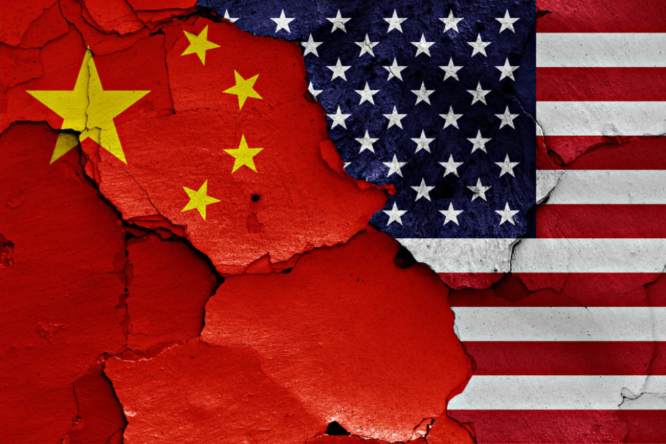Tensions between the U.S and China may lead to an Internet Schism, according to Eric Schmidt. | Image By danielo | Shutterstock