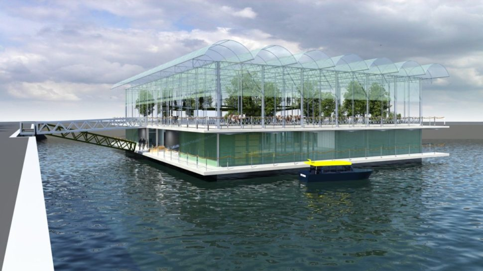 Floating dairy farm off the coast of Rotterdam | Beladon