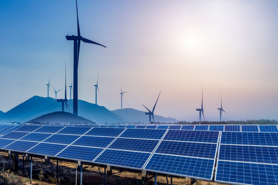 A new study shows that all the major nations of the world can easily become 100% reliant on renewable energy by 2050. | Image By hrui | Shutterstock