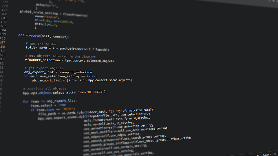 image of Python coding language for article Why Programming Language Julia is set to Dominate our Future