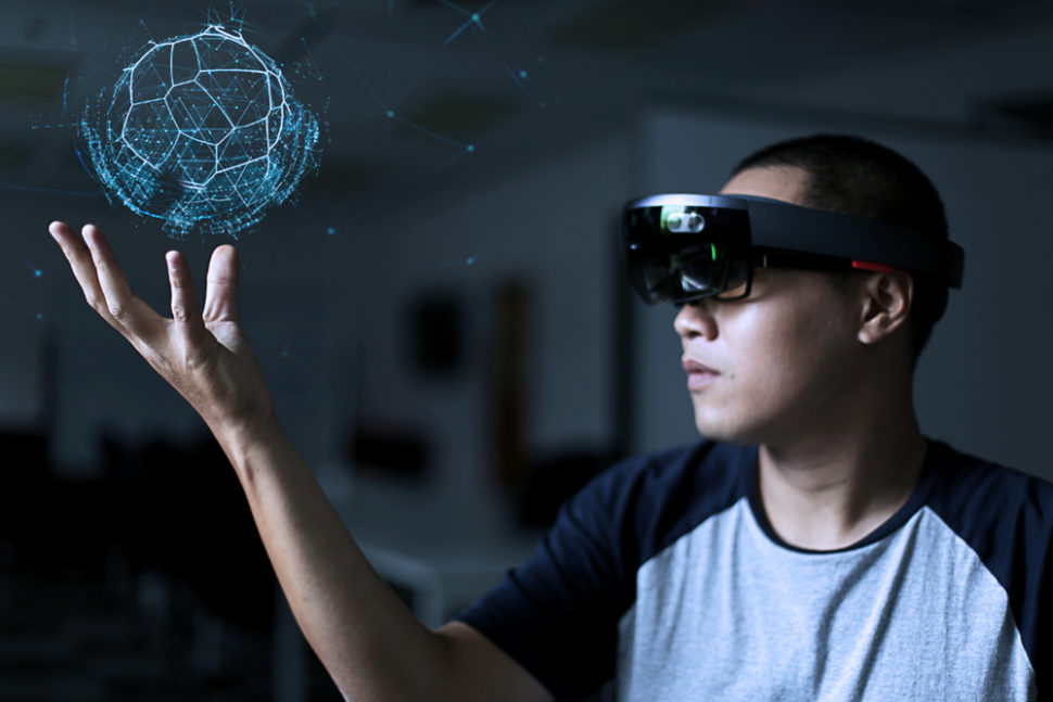 A social media post may have just accidentally leaking info on the new Hololens  | Image By khoamartin | Shutterstock
