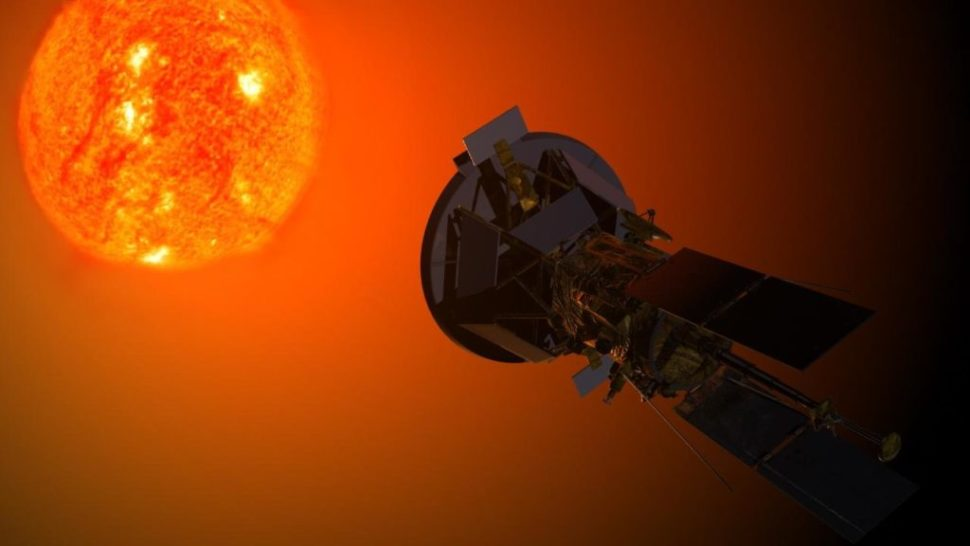 Artist impression of the Parker Solar Probe | NASA | solarprobe.sfc.nasa.gov