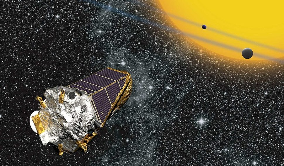 NASA's kepler spacecraft has once again fallen into sleep mode. | Image via NASA.gov