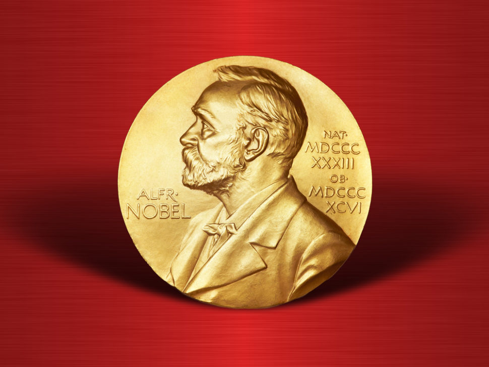A woman has been awarded a nobel peace prize for the first time in 50 years. | Image By Paramonov Alexander | Shutterstock