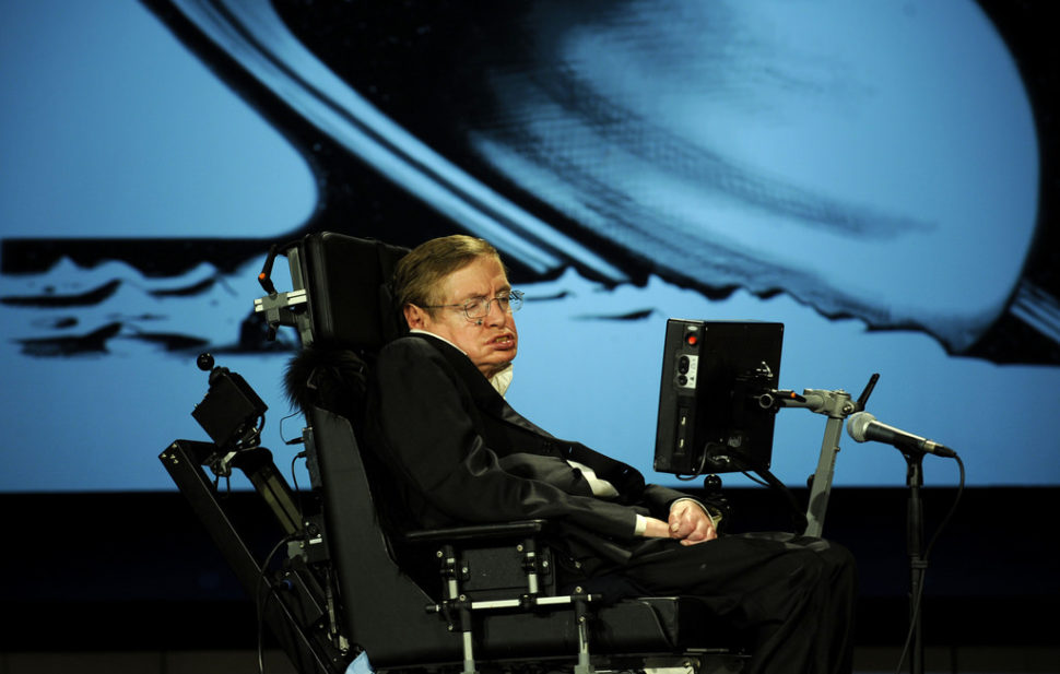 Stephen Hawking NASA 50th (200804210010HQ) | NASA HQ PHOTO | Flickr.com