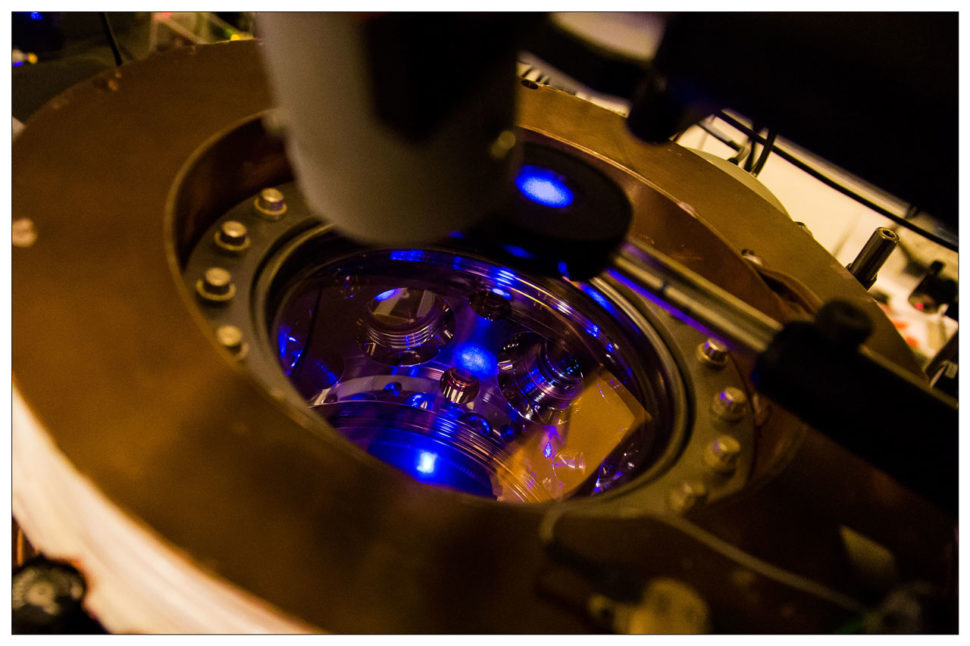 The world's most atomic clock might just become even more accurate. | Image courtesy of the Niels Borhn Institute