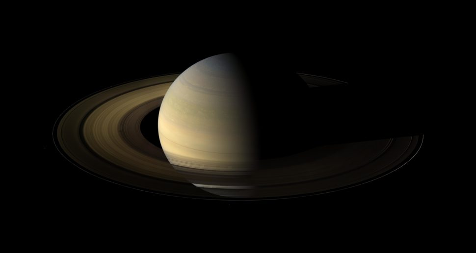 Artist illustration of Saturn's ring system | NASA Jet Propulsion Laboratory CALTECH