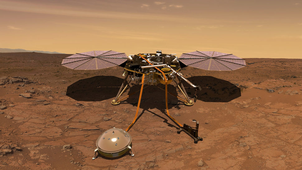 NASA's insight lander now has a Twitter page, and it's genius. | Image via NASA.gov