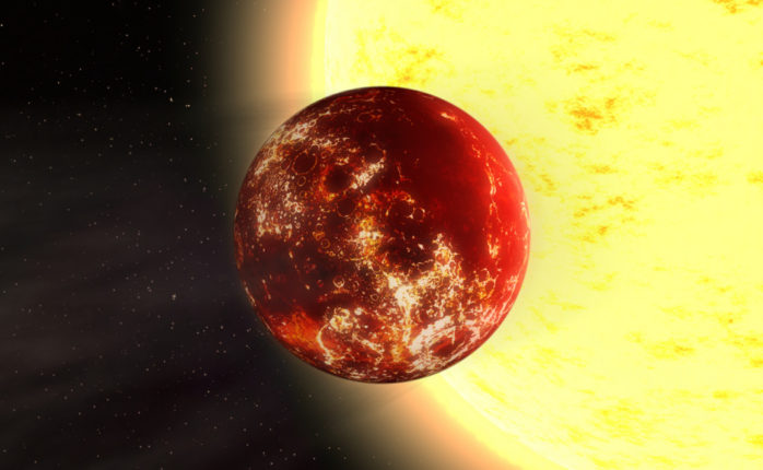 Artist illustration of 55 Cancri e | Kevin Gill | Flickr.com