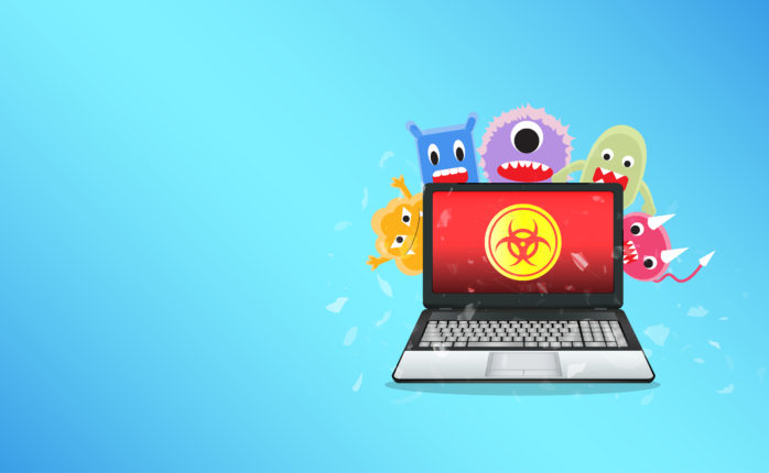 Computer viruses are everywhere these days, so it's important to stay ahead of the newest threats. | Image By siiixth | Shutterstock