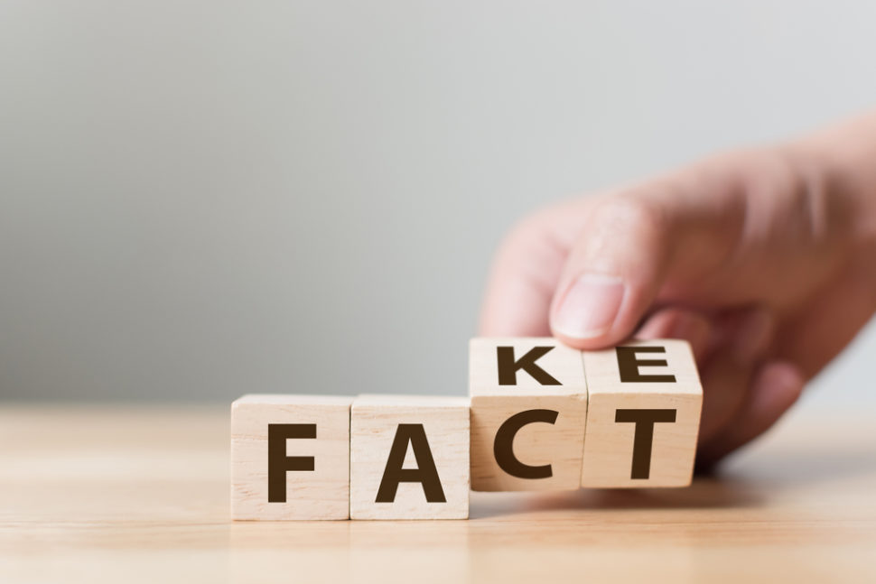 Fake news is everywhere these days. Now, a Google Chrome extension hopes to help readers trust their news sources a little more. | Image By Monster Ztudio | Shutterstock
