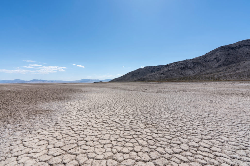 A new study shows that landlocked waterways may be in crisis of drying out en-masse. | Image By trekandshoot | Shutterstock