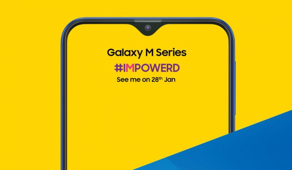 The Samsung Galaxy M, set to be released first in India. | Image via Samsung
