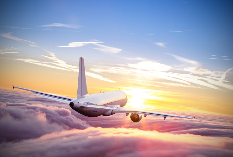 Our skies are becoming more crowded by the day. With that, autonomous planes could provide a solution to the global demand for air travel. | Image By Jag_cz | Shutterstock.com