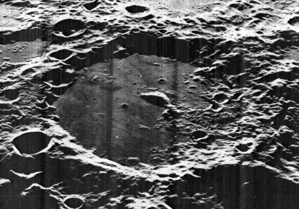 The Von Karman crater   Wikimedia Commons