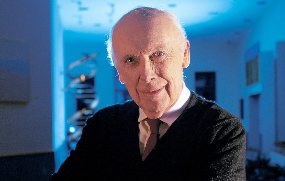 Former CSHL Chancellor Emeritus, Oliver R. Grace Professor Emeritus, and Honorary Trustee, Dr. James Watson | Cold Spring Harbor Laboratory