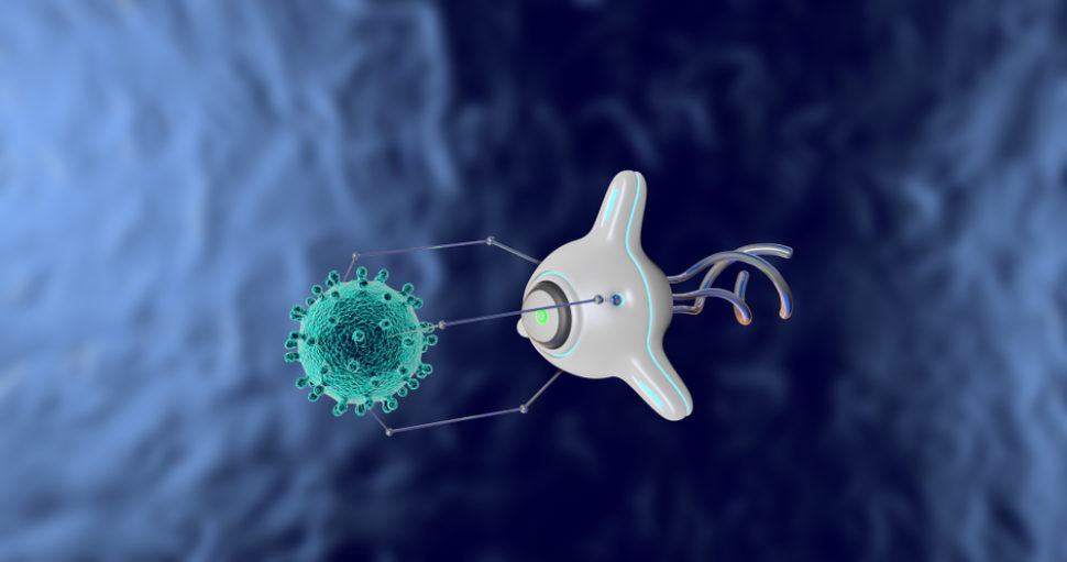 Nanobots could become the future of our global healthcare system. | Image By Volodymyr Horbovyy | Shutterstock.com