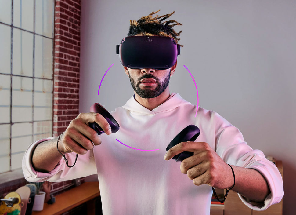 The Oculus Quest is certainly the next step in VR development. | Oculus