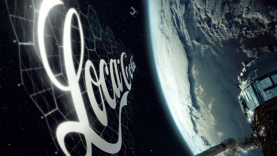 Coca-Cola's Orbital Display billboard. | StartRocket