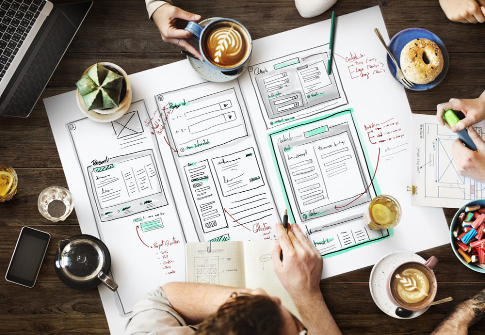 In a flooded market, high-quality UI design could make or break your website. | Image via Rawpixel