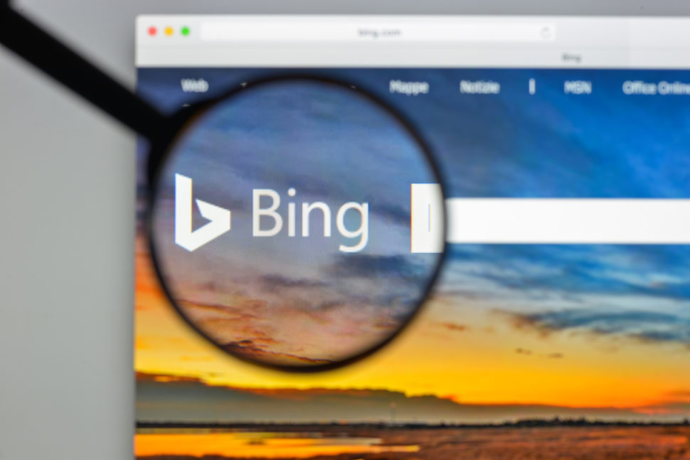 BIng was shut down in China for 24 hours, the reason why remains a mystery. | Image By Casimiro PT | Shutterstock.com