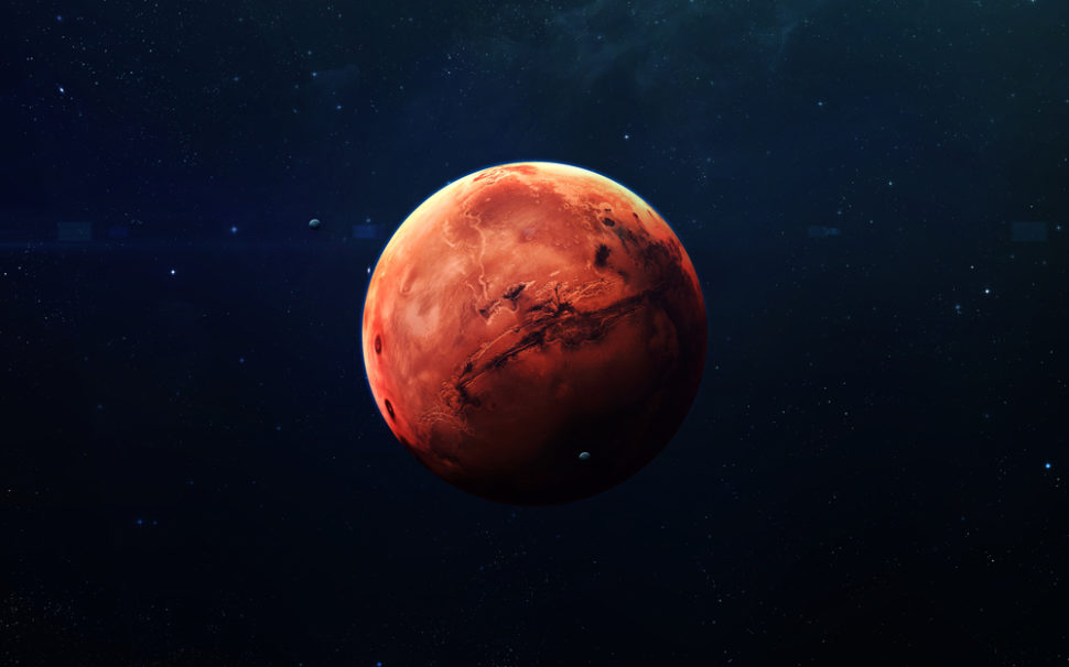 NASA has previously reported that it does not have the funds to travel to Mars, but President Trump may change that. | Image By Vadim Sadovski | Shutterstock.com