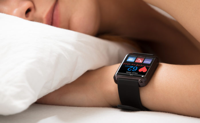 Sleep tech is one of the fastest growing niches in the wearables and software market. | Image By Andrey_Popov | Shutterstock