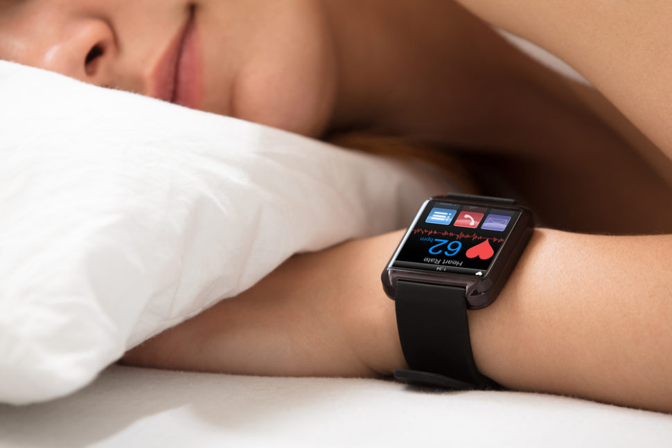 Sleep tech is one of the fastest growing niches in the wearables and software market. | Image By Andrey_Popov | Shutterstock.com