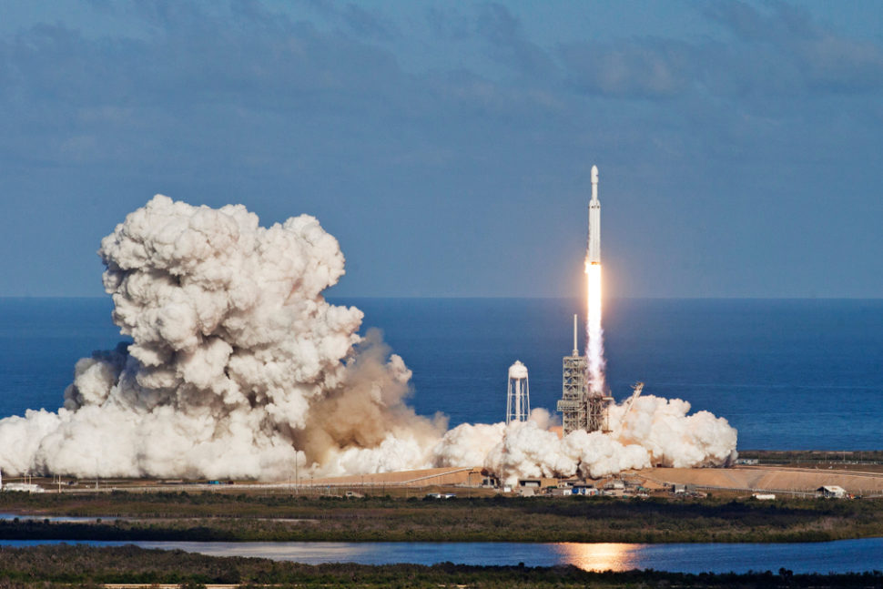 After being delayed by the U.S government shutdown, the first SpaceX manned flight is set to launch next month. | Image By y6uca | Shutterstock