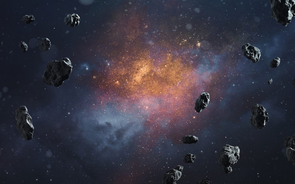 In a few years time, asteroid mining may be one of our species' largest sources of income. ¦ Vadim Sadovski / Shutterstock.com