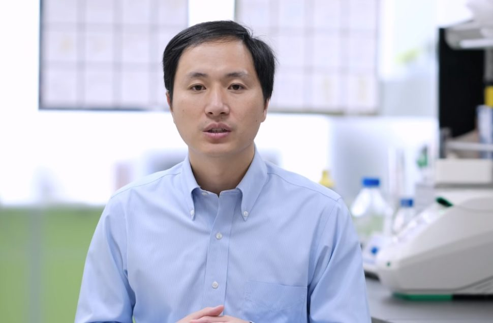 Chinese scientist He Jiankui is reportedly under government watch after announcing the existence of gene-edited twins Lulu and Nana ¦ Image via WIkipedia