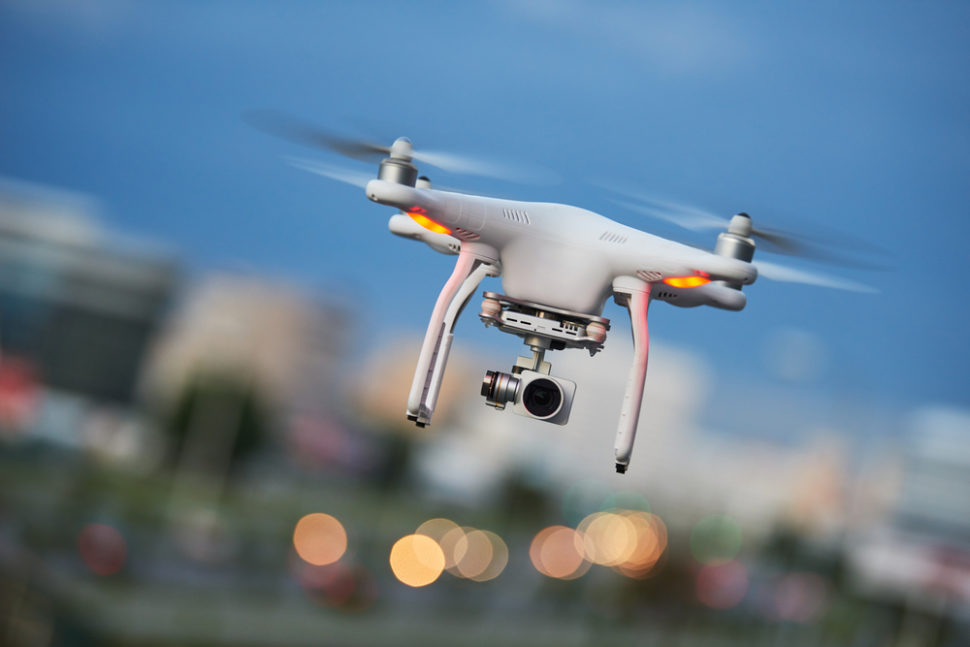 A new law will require all civilian drones to be more easily identifiable. | Shutterstock