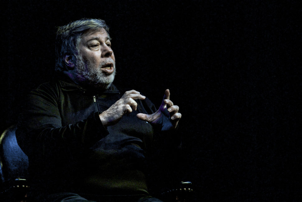 Just like the rest of us, Steve Wozniak is wondering when we might see a foldable iPhone. ¦ mark reinstein / Shutterstock.com
