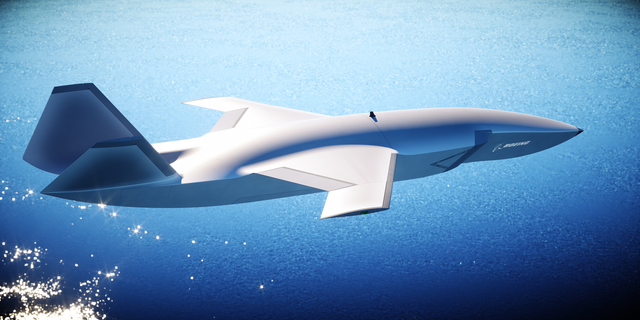 An initial rendering of Boeing's designs. | UAV Dach