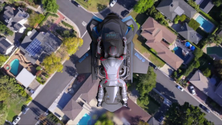 It may seem impossible, but this flying motorcycle is far more feasible than you might think. ¦ Image via Digital Trends
