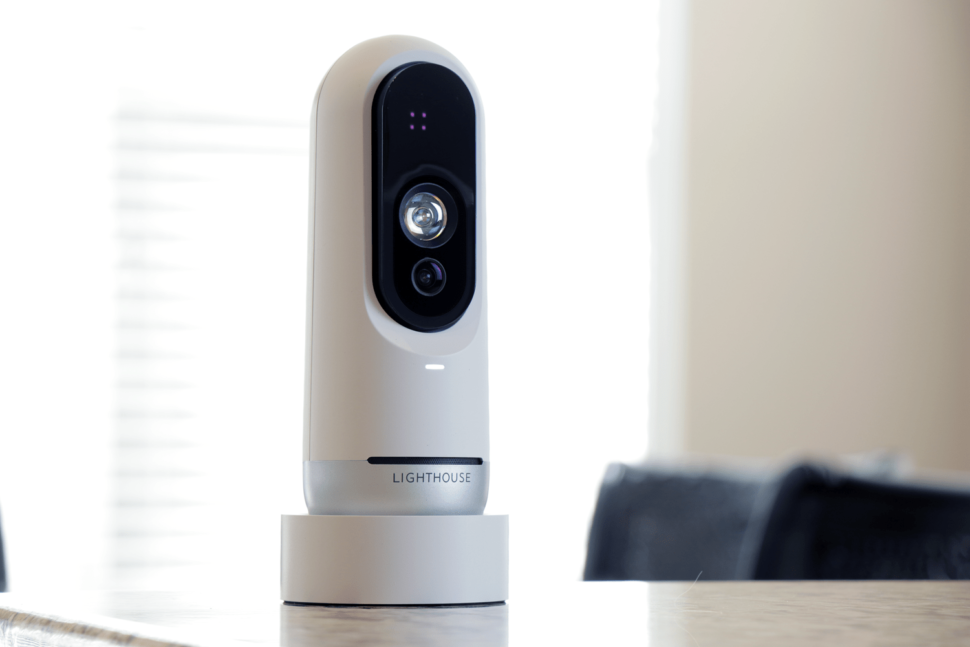 Whether it's to boost their own devices or to create a new home security system, Apple has pounced on Lighthouse AI's patents.  ¦ Image via Lighthouse