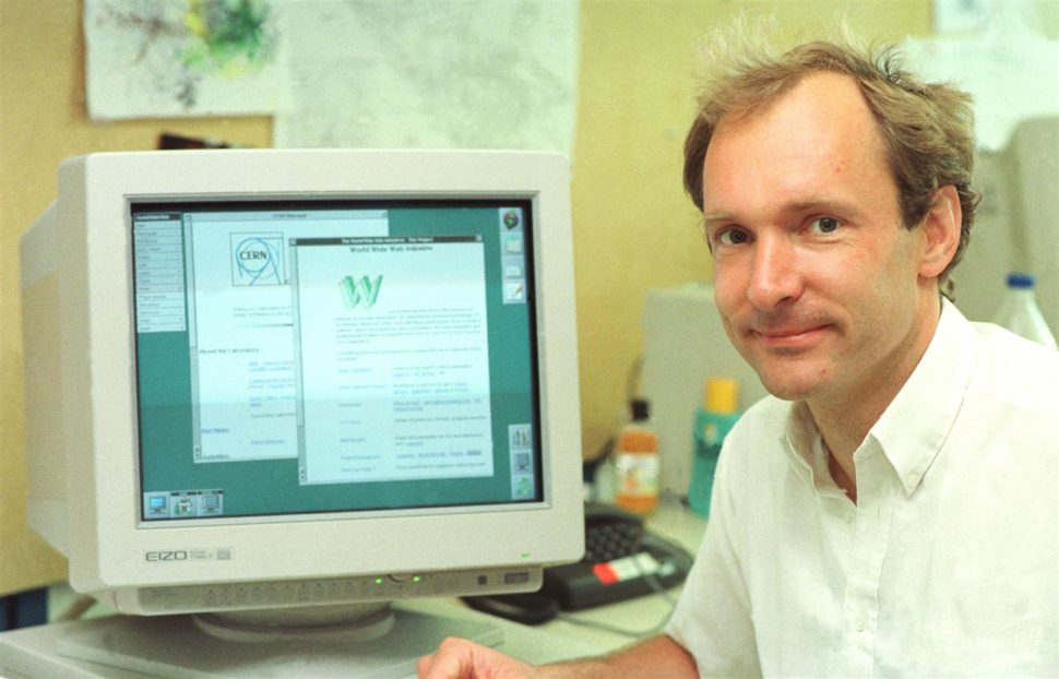 After 30 years, the Internet has changed dramatically. Tim Berners Lee is not happy with the direction it has taken. ¦ Image via cern