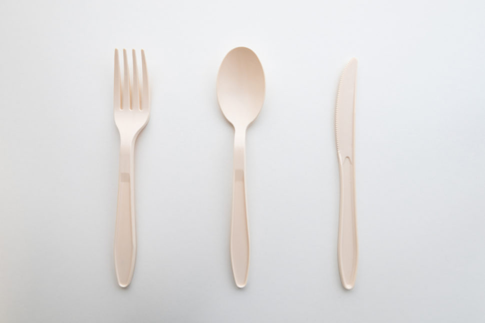 This new form of biodegradable cutlery could be immensely helpful in the fight to reduce plastic waste. ¦ Shutterstock