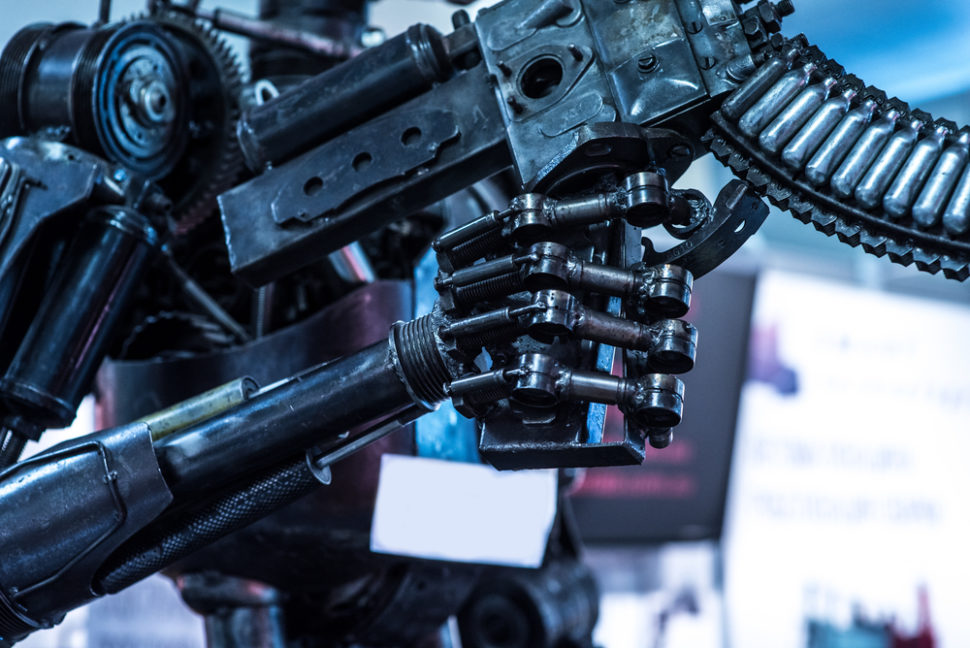 This preemptive ban on the possibly devastating nature of killer robots could be important in stopping future war crimes. ¦ Denis Starostin / Shutterstock.com