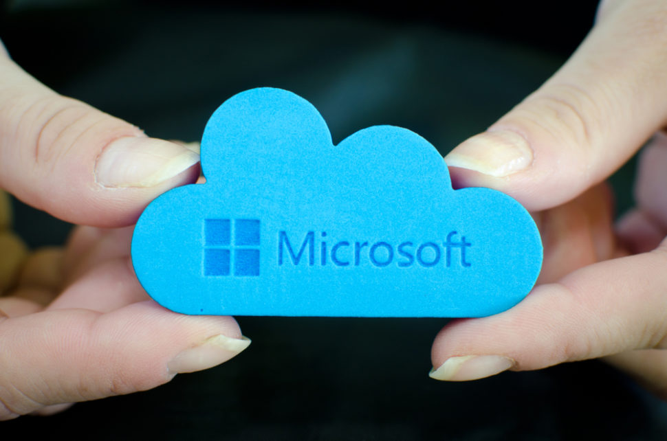 With this new security feature, Microsoft could push its way to the top of the cloud storage market. ¦ Emilija Miljkovic / Shutterstock