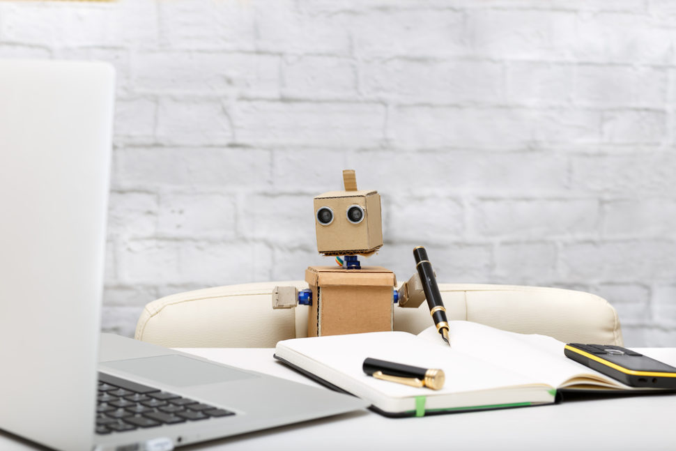 Workplace robots may negatively effect the performance of human workers, and that may be a major issue in the future. ¦ Shutterstock