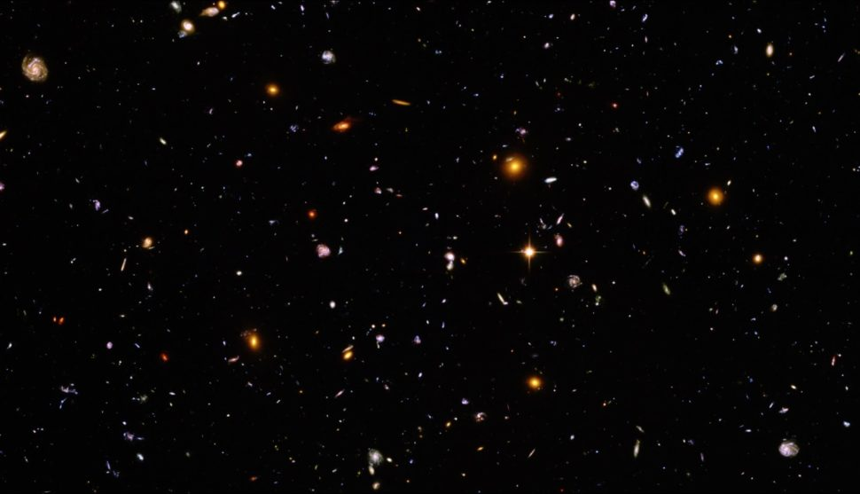 A portion of the the Hubble Legacy field, the most detailed photo of the universe to date | NASA