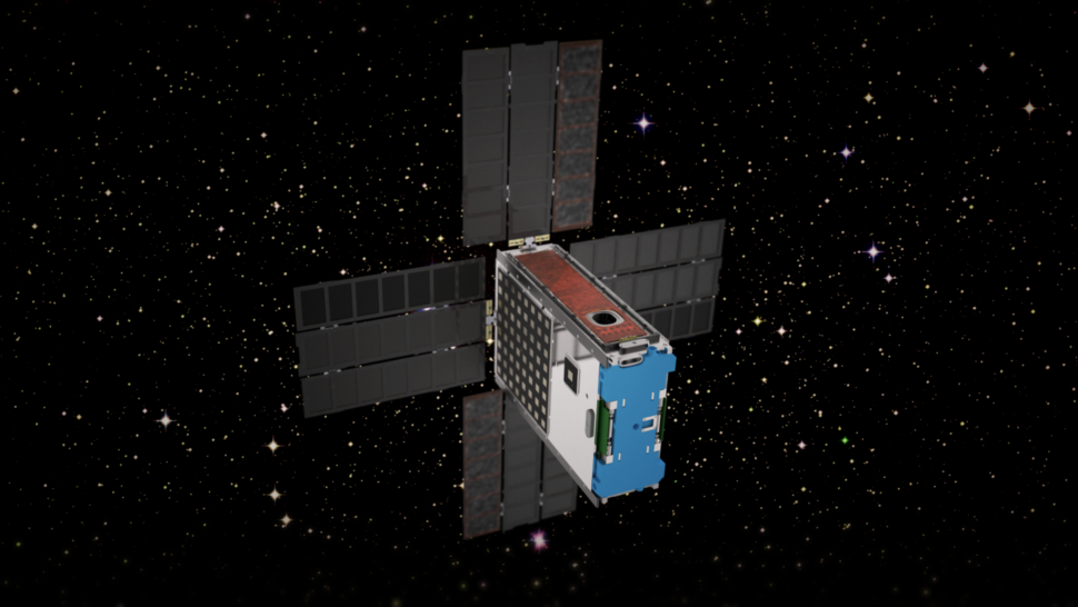 BioSentinel CubeSat | Image Courtesy of NASA