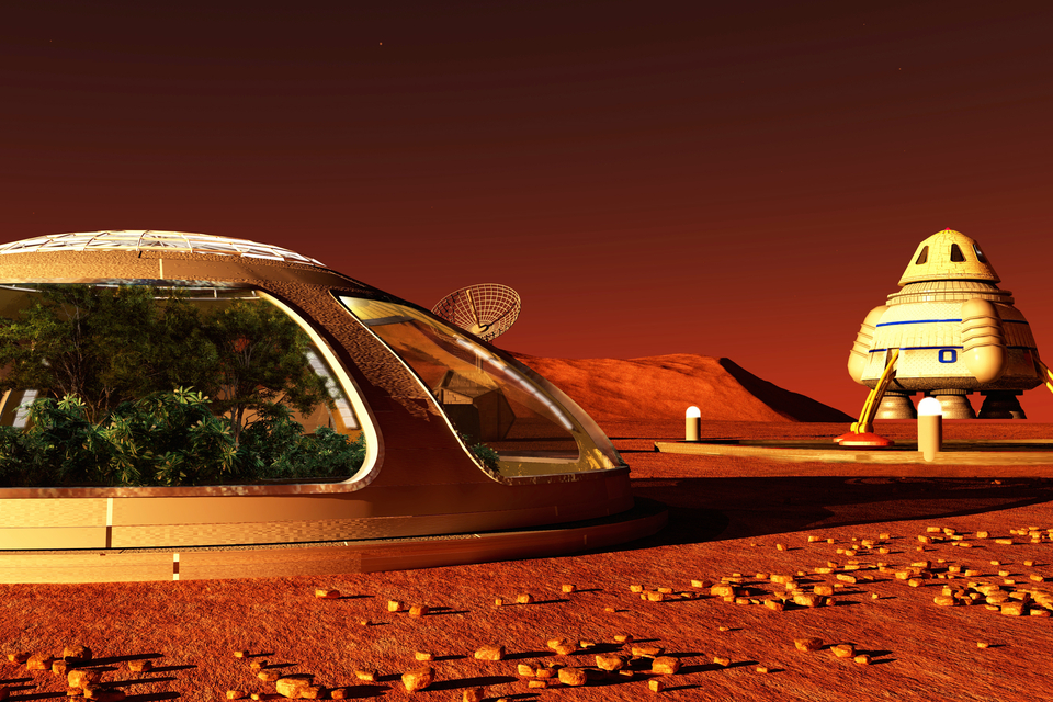 Mushroom Base Could House NASA Scientists on Mars - Edgy Labs