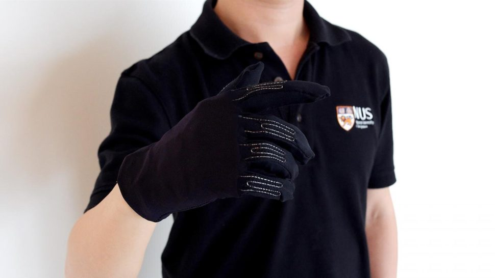 National University of Singapore /  NUS researchers develop new smart gaming glove