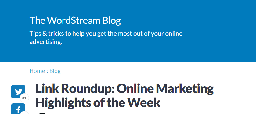 Collaborate with other sites to create link roundups for organic links.